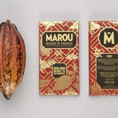 Chocolat Noir Marou - Ba Ria 76% de Cacao