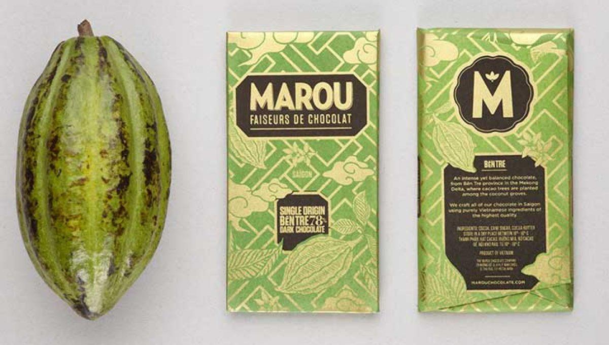 Chocolat Noir Marou - Ben Tre 78% de Cacao