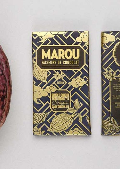 Chocolat noir Marou - Tien Giang 70% de Cacao