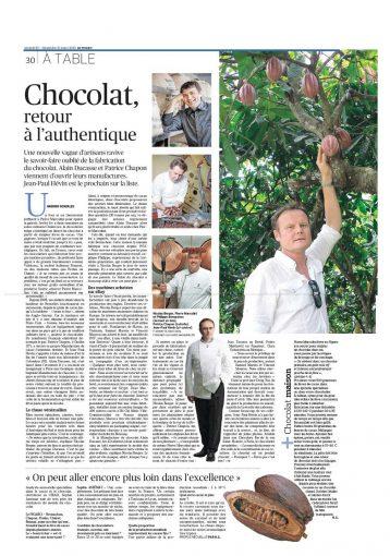 Article dans Le Figaro.