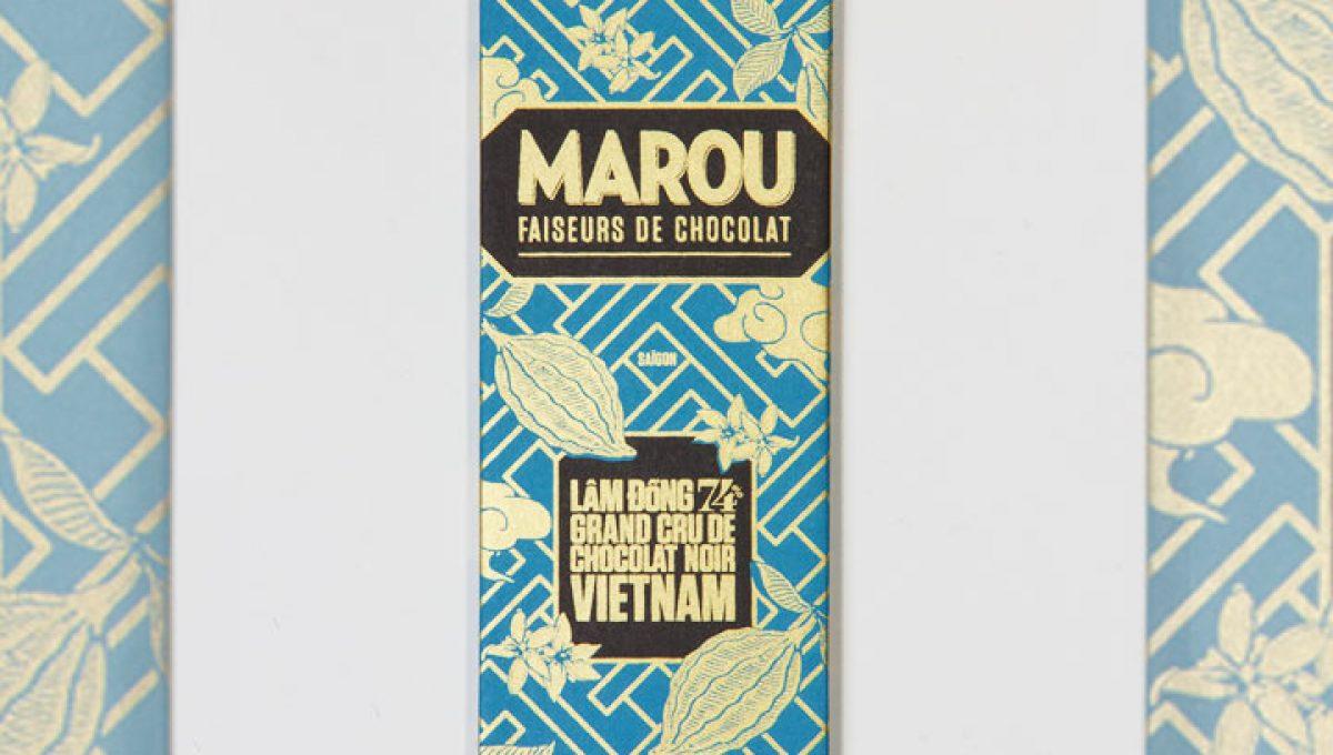 Chocolat Noir Marou - Mini Lam Dong 74% de Cacao