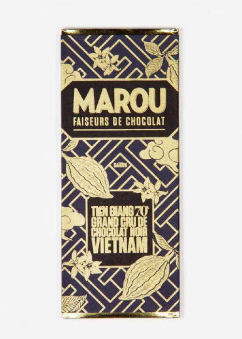 Chocolat Noir Marou - Mini Tien Giang 70% de Cacao