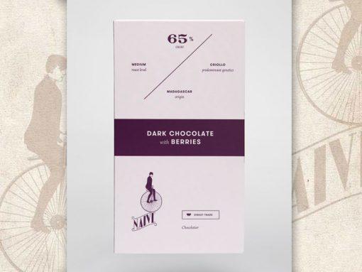 Dark Chocolate with berries, Naive Chocolate