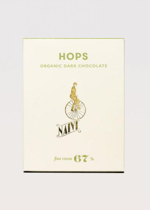 Chocolat Noir Naive - Houblon Hops 67% de Cacao