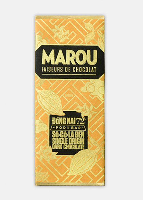 Chocolat Noir Marou - Mini Dong Nai 72% de Cacao