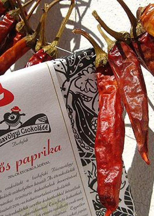 Chocolat Noir Rozsavolgyi - Paprika 73% de Cacao