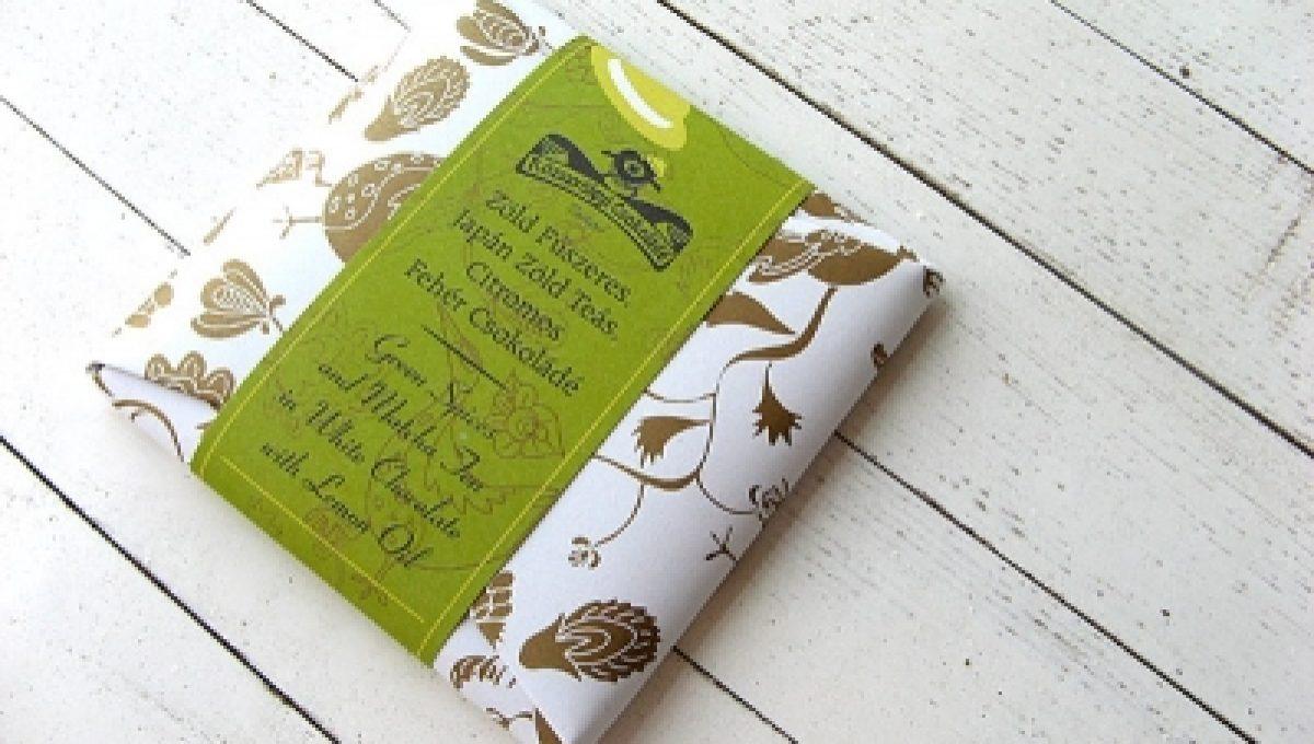 Chocolat Rózsavölgyi - Thé Matcha, Citron