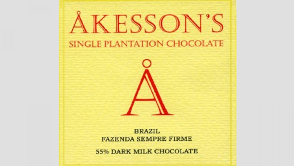 Chocolat au Lait Akesson's - 55% de Cacao
