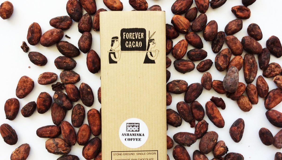 Chocolat Forever Cacao - Café Ashaninka 80%