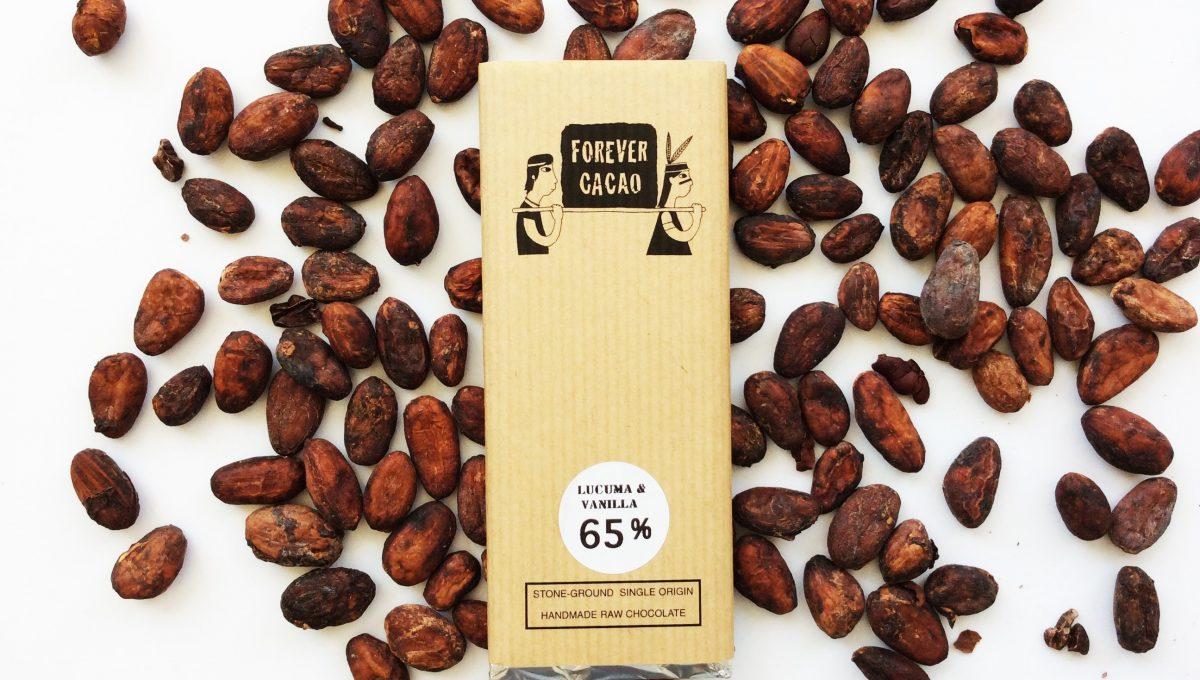 Chocolat FOREVER CACAO - Lucuma et Vanille