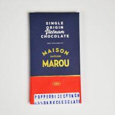 Chocolat noir Marou - Riz Soufflé 65% Cacao