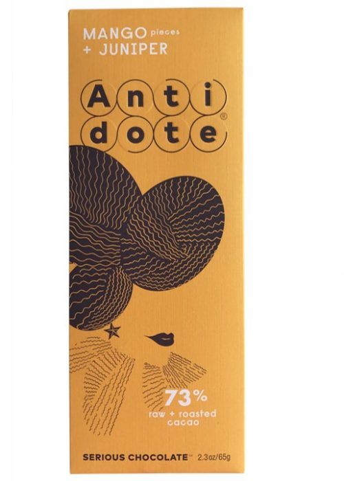 Chocolat Noir Antidote Hybris - Mangue Baies 73%