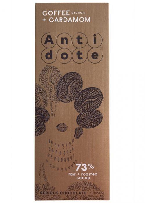 Chocolat Noir Antidote Kakia - Café Cardamome 73%