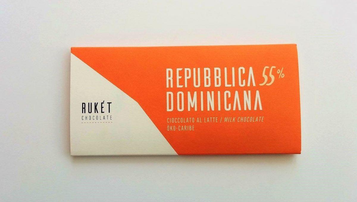 Chocolat Lait Rukét - RÉPUBLIQUE DOMINICAINE 55%