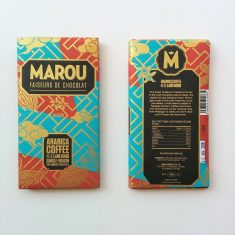 Chocolat Noir Marou - Café Arabica Lam Dong 64%