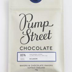 Chocolat Noir Pump Street - Equateur 85%