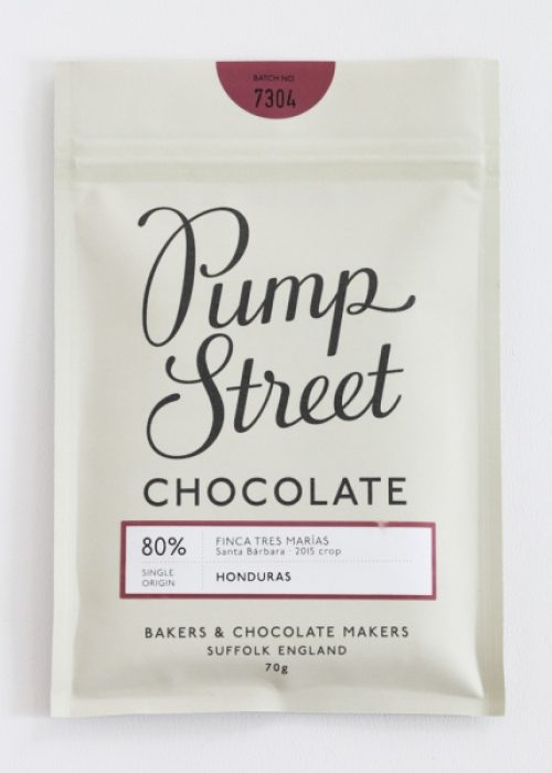 Chocolat Noir Pump Street - Honduras 80%