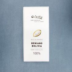 Chocolat Noir Oialla - 100% de Cacao