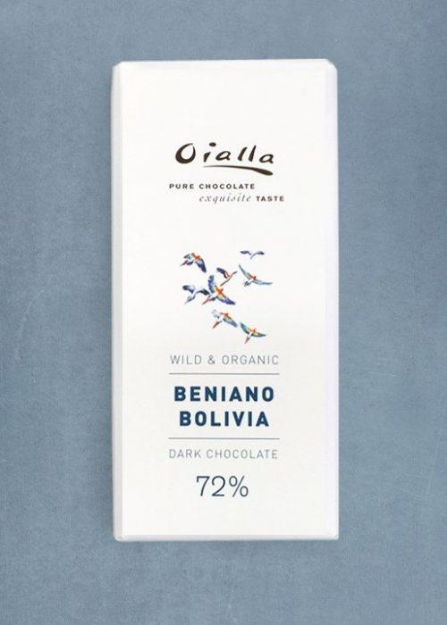 Chocolat Noir Oialla - 72% de Cacao