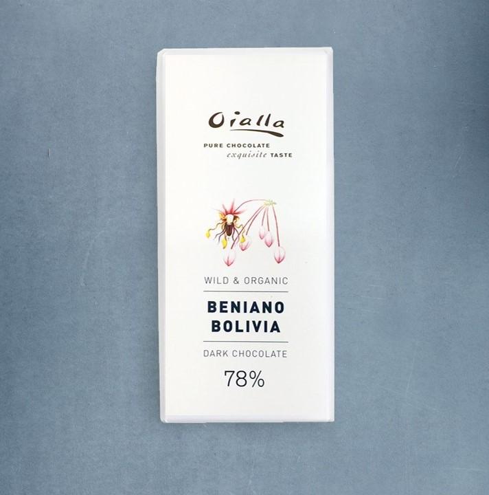 Chocolat Noir Oialla – Beniano 78% de Cacao