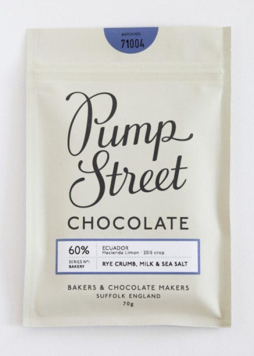 Chocolat Pump street - Pain de seigle & Lait
