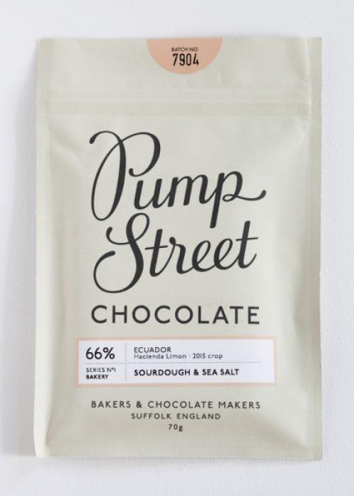 Chocolat Noir Pump Street - Pain Campagne et Sel