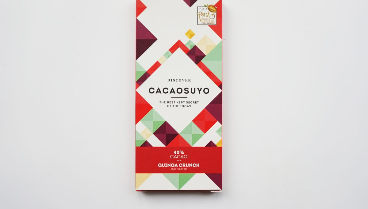 Mini Chocolat Lait Cacaosuyo - Quinoa Crunch
