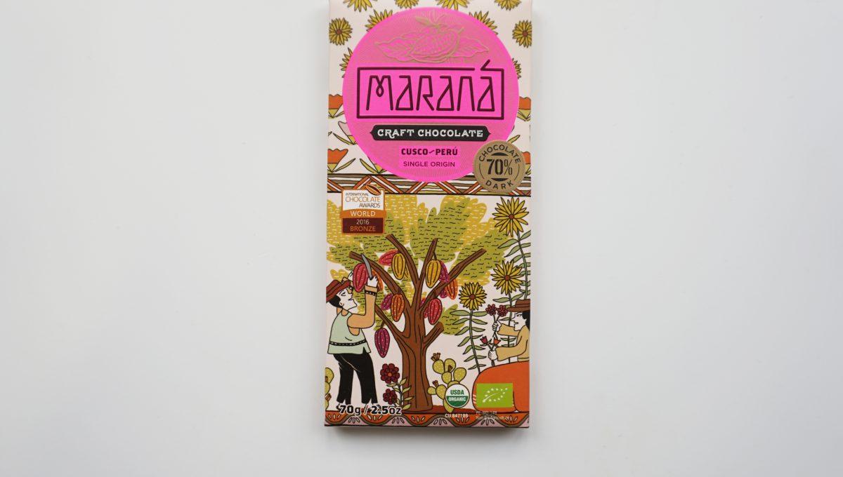 Chocolat Noir Marana - Cusco 70% de cacao