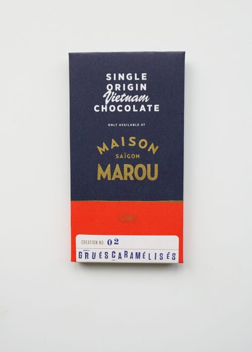 Chocolat noir Marou - Grués caramélisés