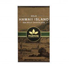 Chocolat Lait Manoa - Hilo 50% de Cacao