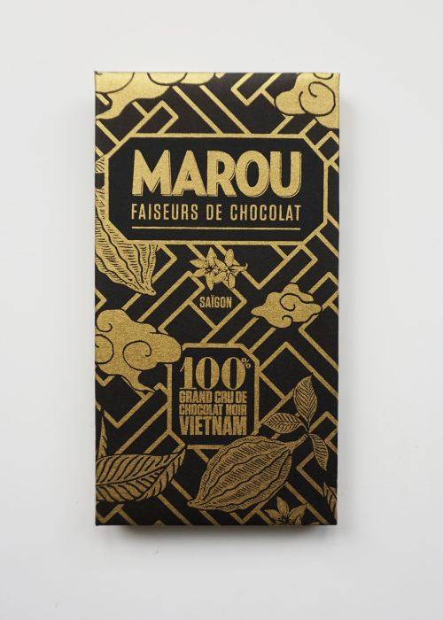 Chocolat Noir Marou - 100% de Cacao