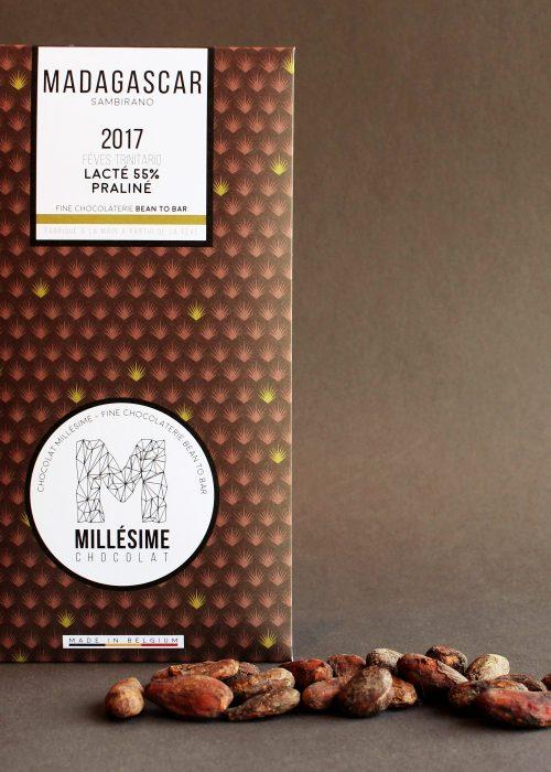 Chocolat Lait Millésime - Lacté Praliné 55%