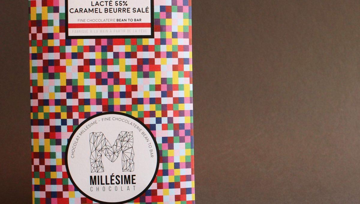 Chocolat Lait Millésime - Caramel Beurre Salé 55%