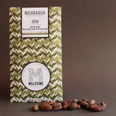 Chocolat Noir Millésime - Nougatine Pistache 65%