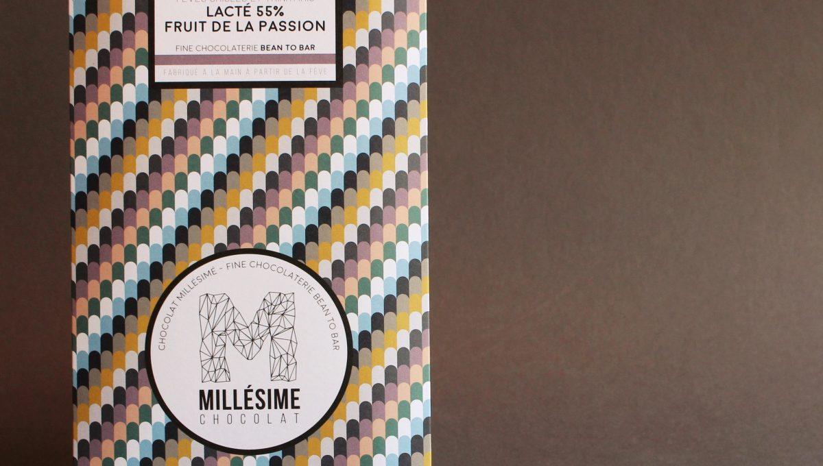 Chocolat Lait Millésime - Fruit de la passion 55%
