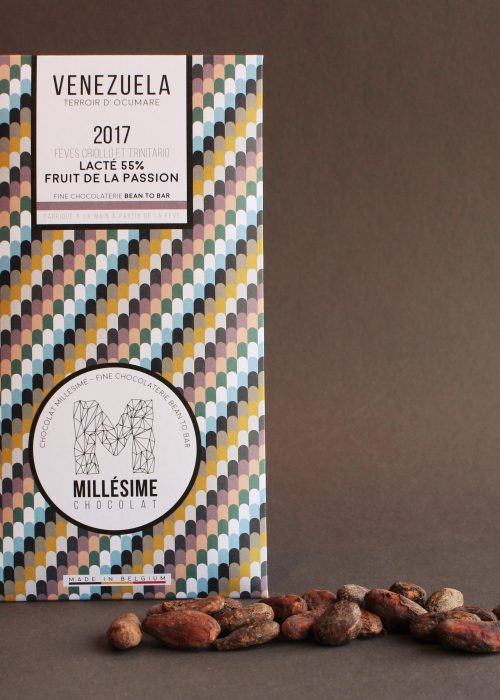Chocolat Lait Millésime - Fruit de la passion 55%