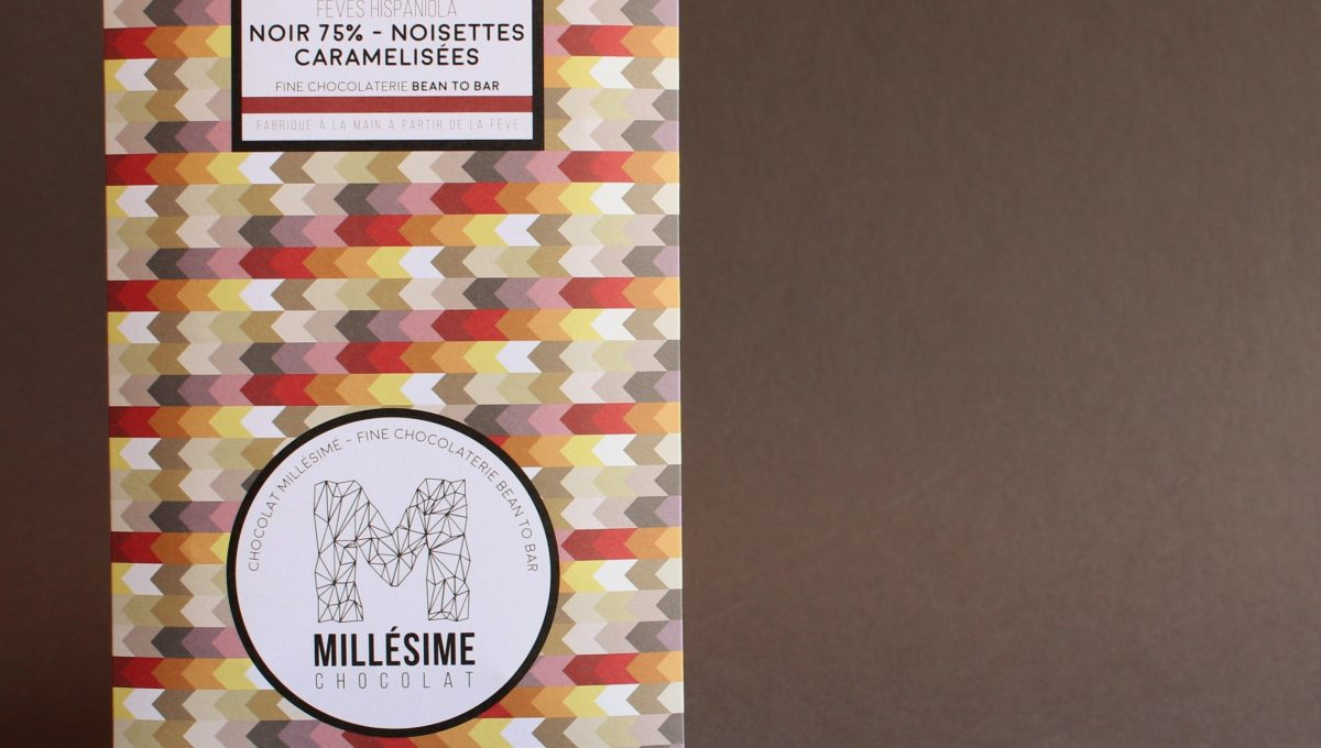 Chocolat Noir Millésime - Noisette caramélisées 75%