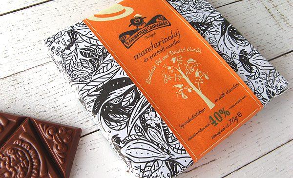 Chocolat Lait Rózsavölgyi – Mandarine Vanille