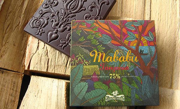 Chocolat Noir Rózsavölgyi – Tanzanie Mababu 75%