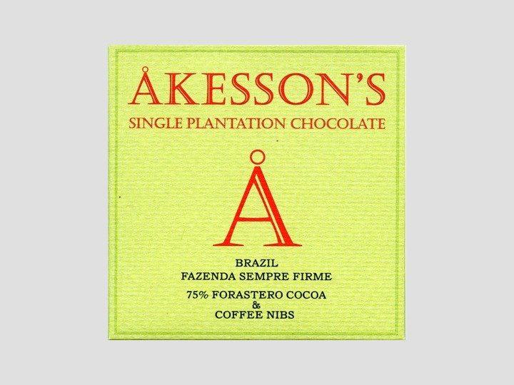 Chocolat Akesson's – Brésil Café 75%