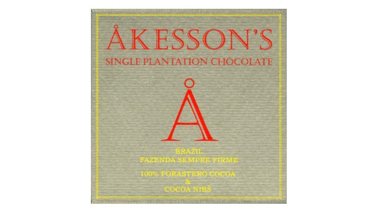 Chocolat Noir Akesson's – Brésil 100% Eclats de Fèves