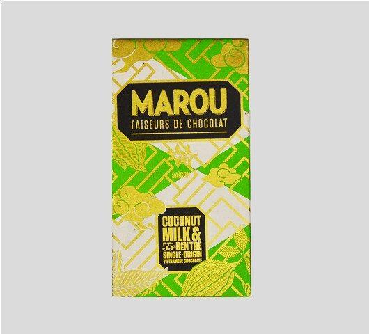 Chocolat Marou – Lait de Coco 55% de Cacao