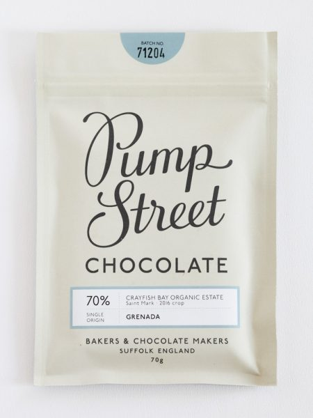 Chocolat Noir Pump Street – Grenada 70%