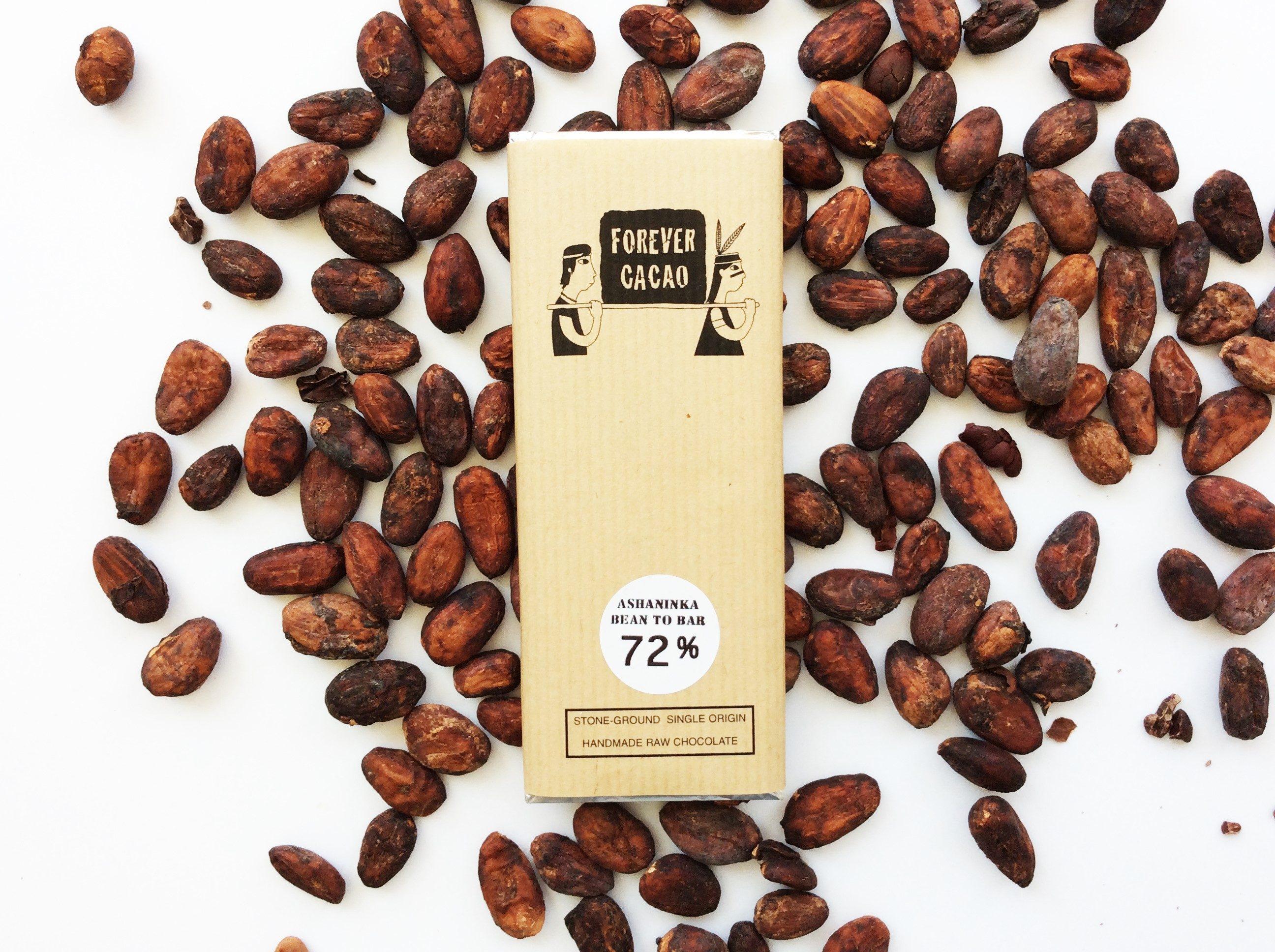 Chocolat Noir FOREVER CACAO – 72% de Cacao