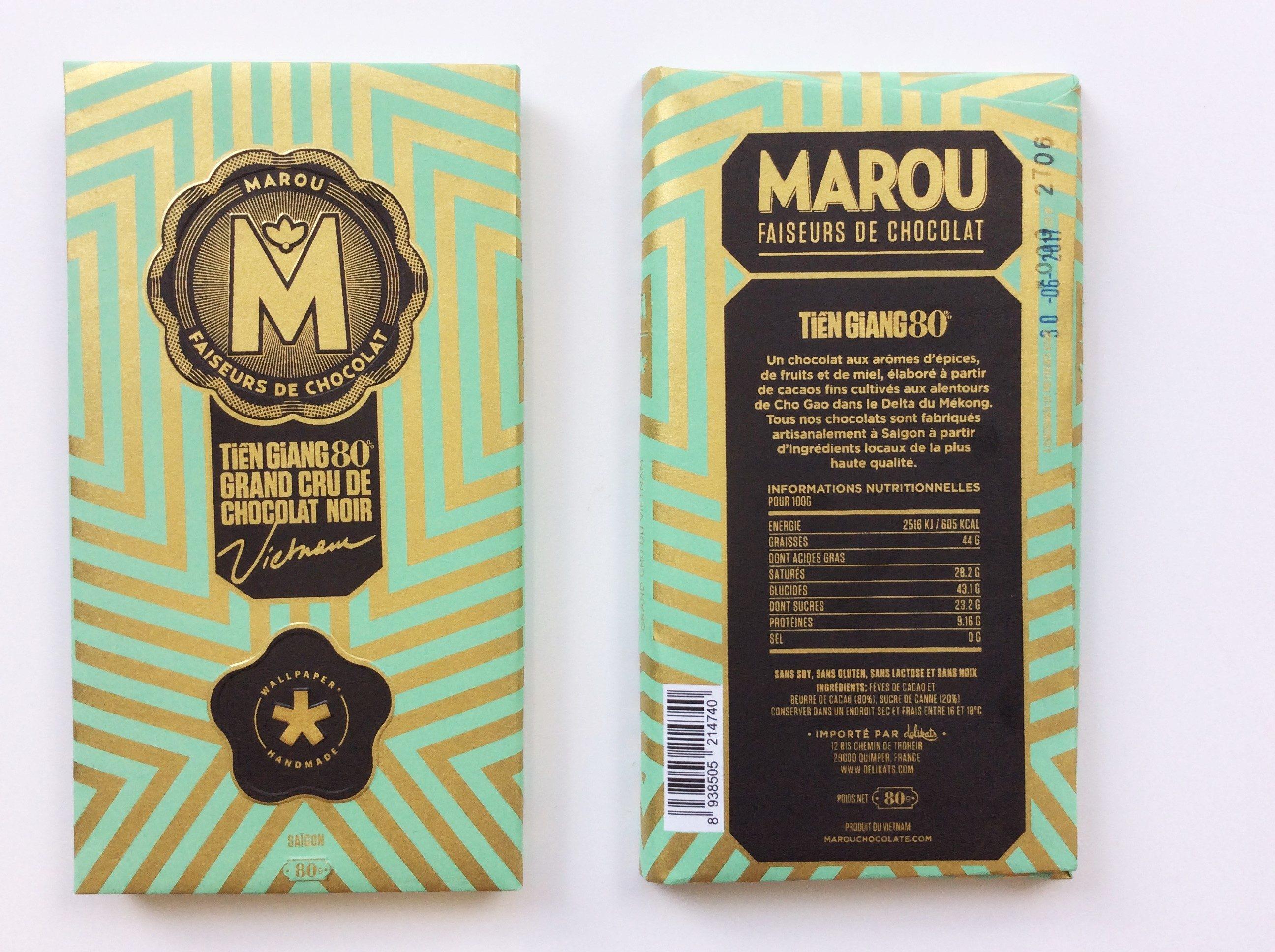 Chocolat Noir Marou – Wallpaper 80%