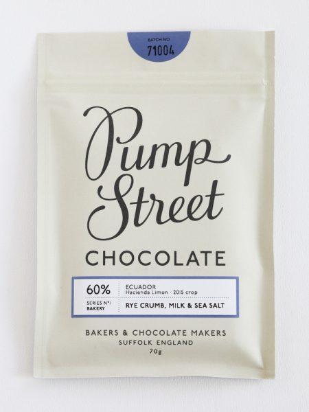 Chocolat Pump street – Pain de seigle & Lait