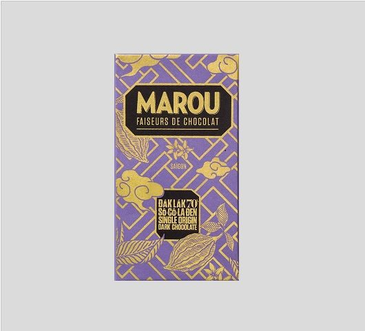 Chocolat Noir Marou – Dak Lak 70% de Cacao