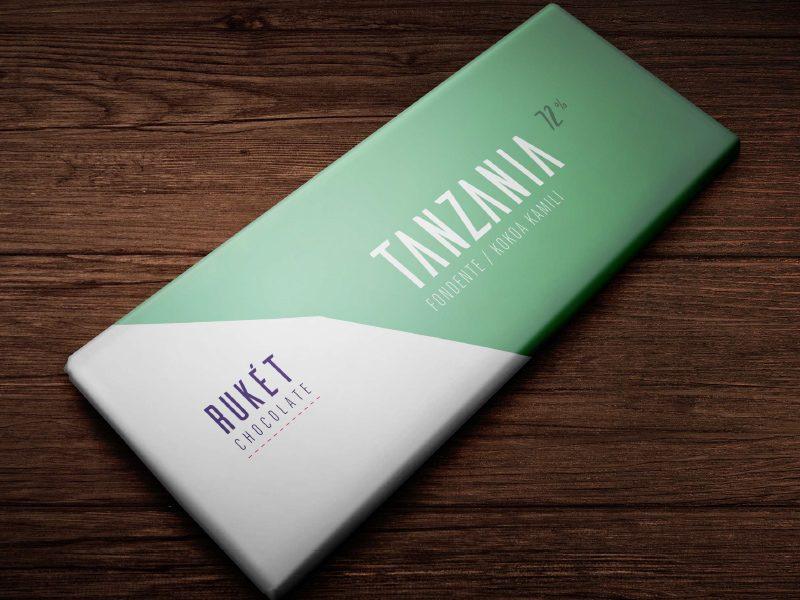 Chocolat Noir Rukét – TANZANIE 72%