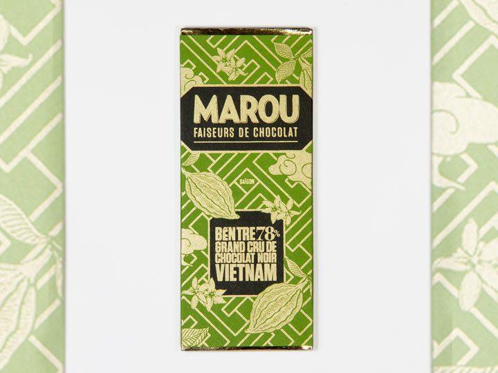 Chocolat Noir Marou – Mini Ben Tre 78% de Cacao