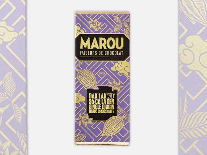 Chocolat Noir Marou – Mini Dak Lak 70% de Cacao